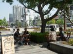 岡山にオープンカフェ01
